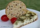 Pesto Cheesecake Appetizer