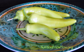 Pinterest Recipe Review – Stuffed Banana Peppers & Zucchini Boats