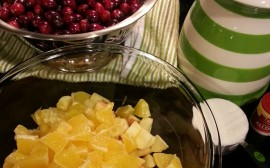 Cranberry Relish with Oranges & Apples